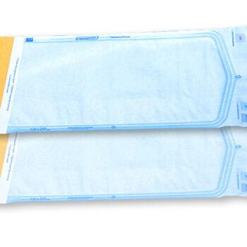 Пакет плоский комбинированный (бумага/пленка) самозаклеивающийся КлиниПак 200 шт/уп