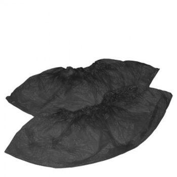 Бахилы Elegreen Экстра плюс черные 4 г. 40 мкм