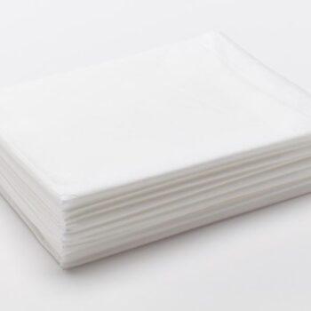Простыня SMS Комфорт белый 70×80 см 20 шт/уп