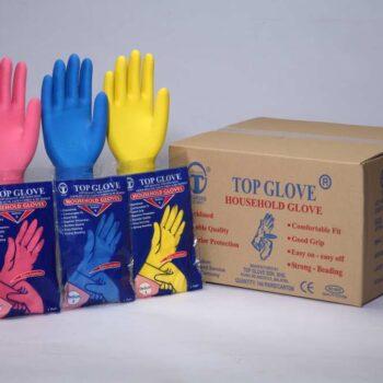Перчатки латексные смотр. неопудр. нестер. Top Glove
