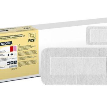 Повязка NEOFIX Post раневая стер. адгезивн. на неткан. основе с вискозн. подуш. 15*8 см