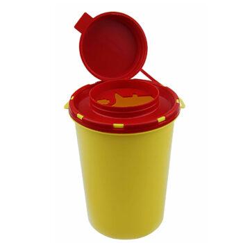 Емкость-контейнер для сбора острого инструментария 0,5 л. Класс Б