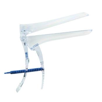 Зеркало гинекологическое белое по Куско с поворот. фиксатором