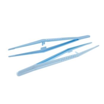 Пинцет одноразовый стерильный (зажимный) 125мм