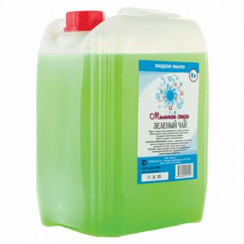 """Жидкое мыло """"Зеленый чай"""" 5 л."""