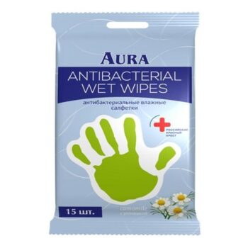 Влажные салфетки антибактериальные Derma Protect РОМАШКА
