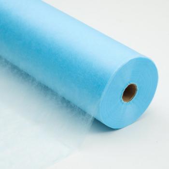 Простыни одноразовые голубые 70×200,100 шт/рулон