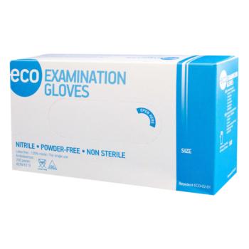 Перчатки нитриловые ECO смотровые нестерильные