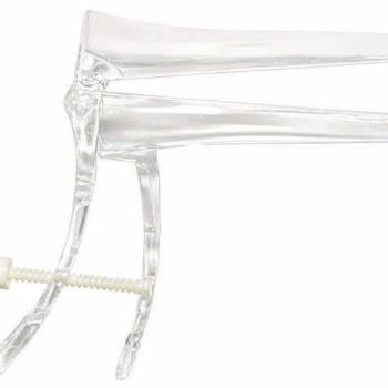 Зеркало гинекологическое прозрачное по Куско с поворот. фиксатором