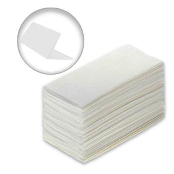 Листовые полотенца V сложения 1 слойные; 22х23 см; 250 листов