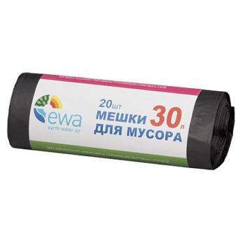 Мешки для мусора EWA 30л
