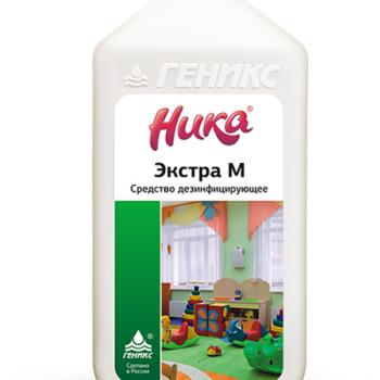 Дезинфицирующее моющее средство Ника экстра М 1кг